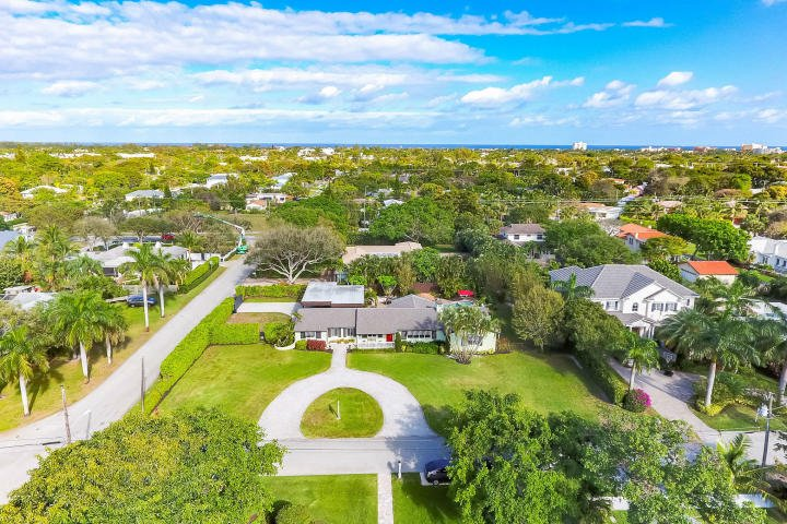 Ariel photo of a home for sale in Delray Beach